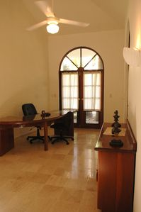 Sosua villa rental - Office attached to Master Suite