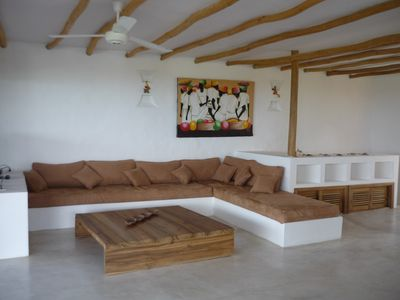 Large sofa to relax, waiting for you