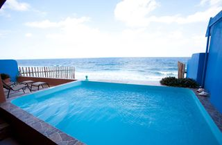 pool main leel - Isla Mujeres house vacation rental photo