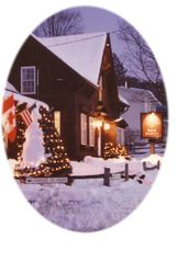 Winter scene - Stowe house vacation rental photo