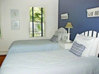 Edgartown house photo - Bedroom #5 - Two Twin Beds. First Floor