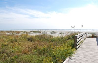 Beach 250 yards from house- widest beach in all of Wild Dunes/ Isle of Palms
