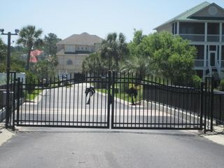 Cherry Grove Beach estate photo - Gated Island with close circuit tv