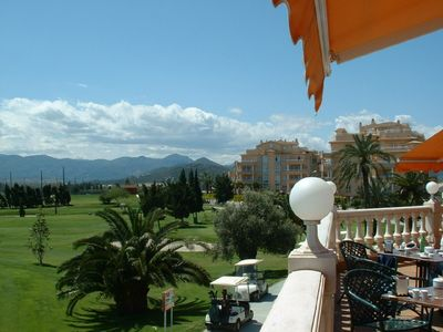Oliva apartment rental - View from Golf House over the Championship Course