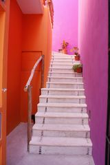 Isla Mujeres apartment photo - Entrance to 2nd floor apts.