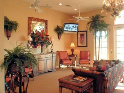 Tuscan Hills Clubhouse with Cyber Room, Fitness Room, Games Room, Lounge