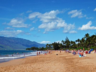 Just a quick walk from your condo door, Kamaole I is a stunning sandy beach