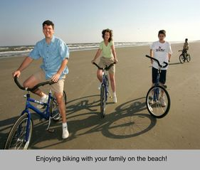 Kiawah Island villa photo - Have fun biking on the beach.