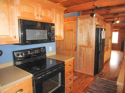 Carolina Cabin Rentals Cloud 9 Stove