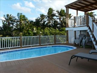 Elbow Cay and Hope Town house photo - Secluded pool deck