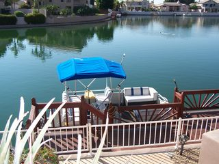 Glendale house photo - Dock and Pontoon Boat