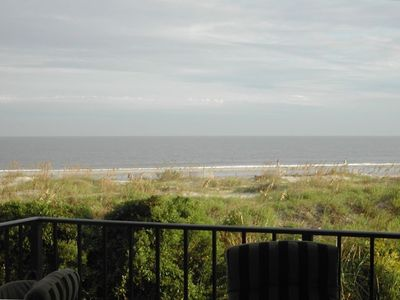 Unobstructed view of ocean from the balcony