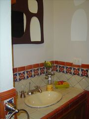 San Miguel de Allende house photo - The Fruit Bathroom (half bathroom).
