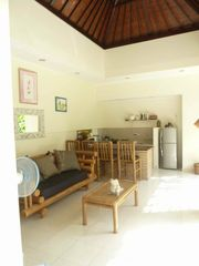 Seminyak villa photo - Living area with Bamboo furniture