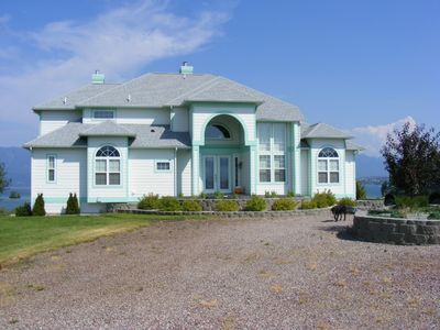 Front view - Flathead Lake House