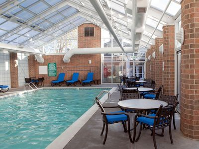 Indoor Swimming Pool at the Varsity Clubs of America South Bend