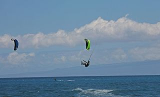 Keauhou studio photo - kite surfer!