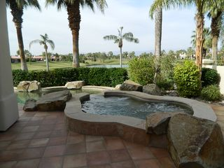 La Quinta house photo - Jacuzzi, pool, and view. Does it get any better?