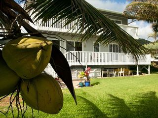 Hauula house photo - Hale Moana Mele-Ocean side