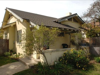 Santa Barbara cottage rental - The Yellow House
