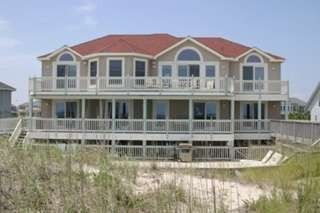 Outstanding oceanfront home-stunning views, private beach walkway, pool, hot tub - Corolla house vacation rental photo