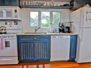 Oak Bluffs cottage photo - The Kitchen Is Well-Equipped For Vacation Entertaining