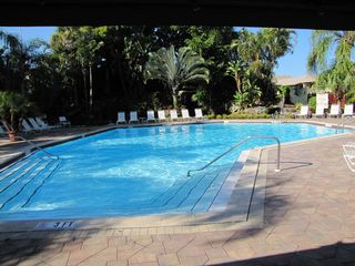 Guests-only large swimming pool on property - North Naples condo vacation rental photo