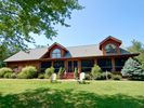 Welcome! Beautifully constructed log cabin. - La Porte cabin vacation rental photo