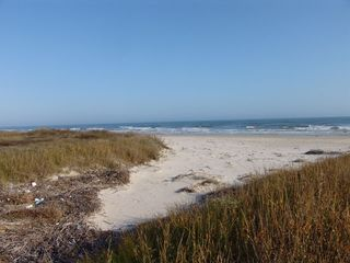 Galveston property rental photo - 2 Acres of Private Beach Area
