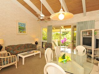 Napili condo photo - 2nd floor living room vaulted ceiling. 1st floor has walk out.