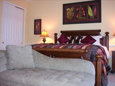 Reunion villa rental - One of the Master Bedrooms with full facilities