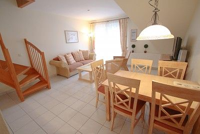 3-bedroom apartment with 3 BR. Timmendorfer beach for 5 people.