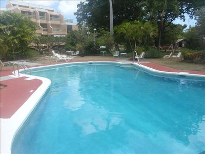 Bridgetown apartment rental - Enormous Pool