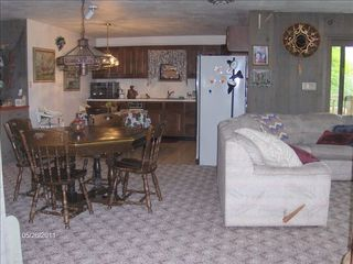 Lancaster house photo - Basement game room & kitchen
