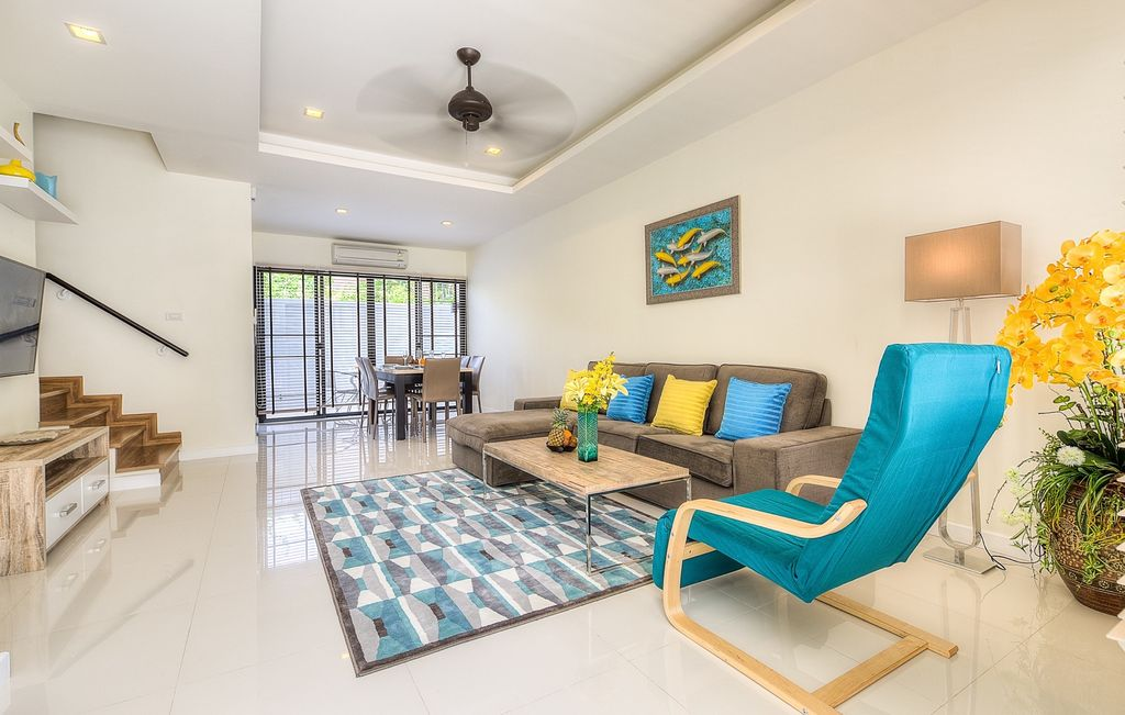 Dina House - 3 Bedroom Townhouse With Jacuzzi  800 M Away From The Beach