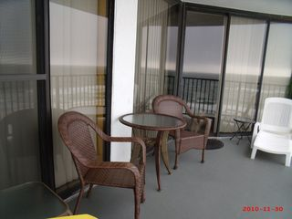 West Panama City Beach condo photo - Balcony