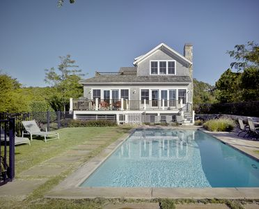 Large heated pool, in season, and ample yard space to play!