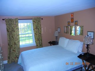Downstairs queen bedroom - East Orleans house vacation rental photo