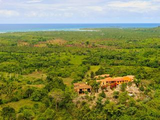 Las Terrenas villa photo - Monte Placido - on a hilltop residence overlooking the ocean.