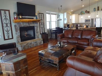 Park City house rental - formal living upstairs
