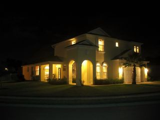 Haines City house photo - calabay at tower lake home by night