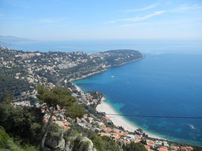 Stunning seaview terrace/garden 3 bedroom penthouse villa 4 minutes from Monaco
