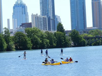 Paddle-Board or Kayak Your Way Down the River