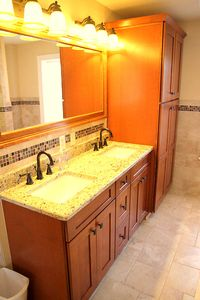 Saratoga Springs house rental - Bathroom #2 (total of 2 1/2 baths). Custom work throughout. All new fixtures