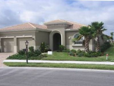 Venice house rental - Home on Cul-de-sac with Lake and Golf Course in Rear