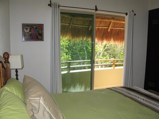 Tulum condo photo - Every room has screens, overhead fans, and air conditioning. Great breezes.
