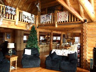 Ascutney cabin photo - Living Room