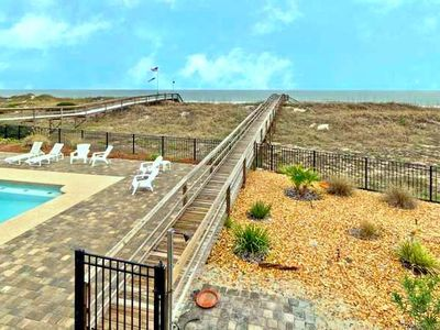 Amelia Island townhome rental - Private Ocean Access