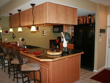 Branson condo rental - A Fully Equiped Gourmet Kitchen