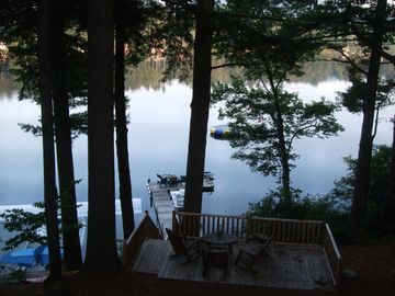 View of Dock From Lodge